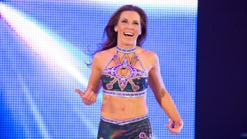 Mickie James smiling
