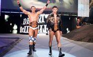 Drew McIntyre and Cody Rhodes