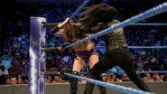 Tamina attacking