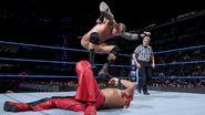 The Viper stomps away at Shinsuke-Nakamura
