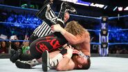 After hitting Zayn with superkick Ziggler scores a victory