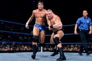 Brock Lesnar against Randy Orton at SmackDown