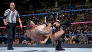Orton ddt on Sami-Zayn