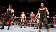 The-Miz Cesaro Sheamus Braun-Strowman and Kane