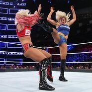 Flair big boot to Bliss