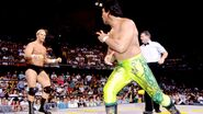 Steve Austin facing Ricky Steamboat at Clash-of-the-Champion 94