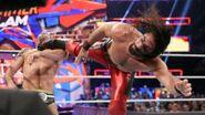 Rollins kick Cesaro