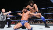 Mahal stretches Roode both arm