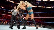 Natalya Charlotte battling each other