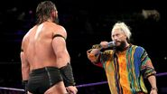 Enzo-Amore calling out Neville
