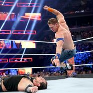 Cena putting five-knuckle shuffle on Corbin