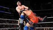 Ryback spinebuster on Konnor