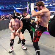 Owens and Zayn dismantle Bryan hoping to spoil his return