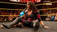 Nia Jax defeated Bayley