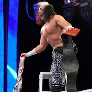 Matt-Hardy winning the Tag Team Champion