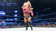 Roode spinebuster to Mike-Kanellis