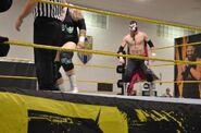 Sami against Brodus-at-NXT