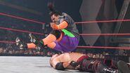 Rosey legdrop on Kane