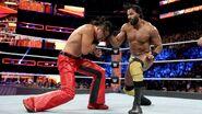 Mahal hitted Nakamura