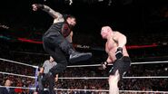 Roman-Reigns superman punch on Lesnar