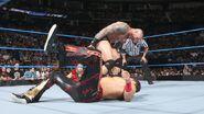Randy stomping Fandango