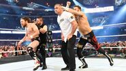 Kevin Owens and Sami Zayn attack from behind