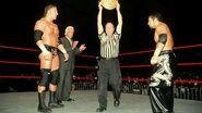 Triple one-on-one against Tajiri