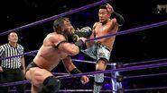 Akira kicked Neville