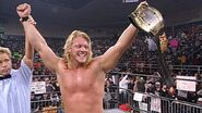 Chris Jericho as three-times WCW Cruiserweight Champion in 1998