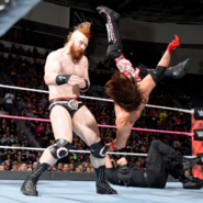 Styles kicked back to Sheamus