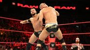 Finn fighting Cesaro