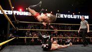 Sami avoid the Red Arrow by Adrain Neville