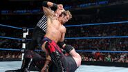 Ryder punching Kane at Over-the-Limit
