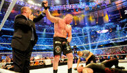 Brock Lesnar ending Undertaker