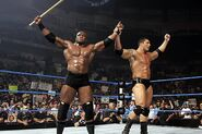 Bobby Lashley and Batista