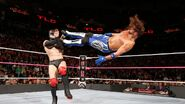 Styles scores with a dropkick