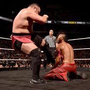 Samoa Joe against Nakamura