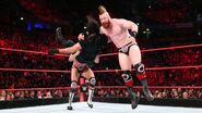 Cesaro and Sheamus taken down Rollins