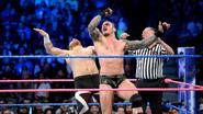 Orton uppercut Sami Zayn