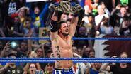 The Phenomenal One winning the WWE Champion