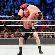 Brock-Lesnar F5 on Samoa-Joe