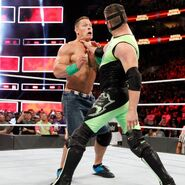 The Hurricane makes a surpise return and sets his sights on John Cena