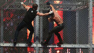 Ambrose Rollins in a Hell in a Cell