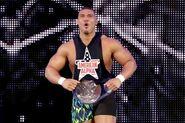 Jason-Jordan as SmackDown Tag Team Champion