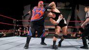 Rosey against Rhyno