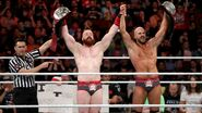 Sheamus and Cesaro claim the WWE Tag Team Champions