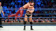 Nakamura launches onto Rusev