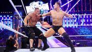 Miz punching John-Cena