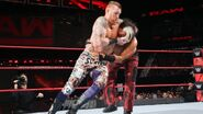 Heath Slater puts Matt in a headlock