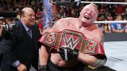 Lesnar retained the Universal Champion